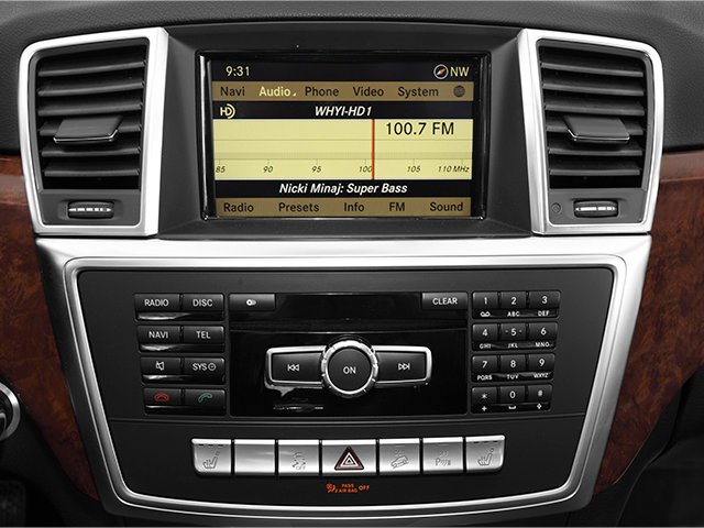2014 Mercedes-Benz M-Class Prices and Values Utility 4D ML550 AWD V8 Turbo stereo system