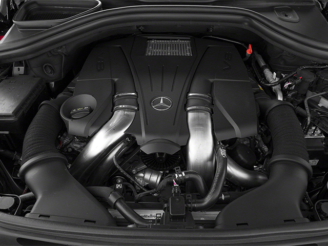 2014 Mercedes-Benz M-Class Pictures M-Class Utility 4D ML550 AWD V8 Turbo photos engine