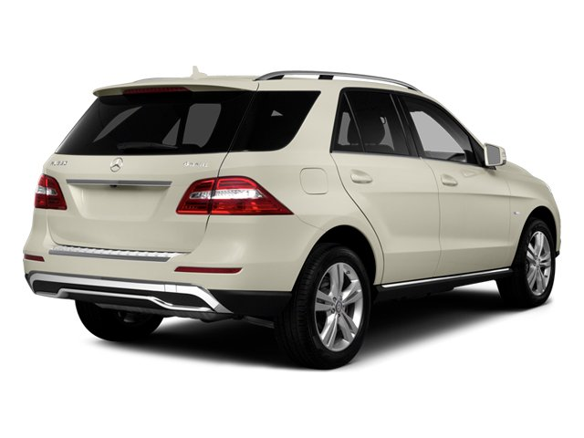 2014 Mercedes-Benz M-Class Prices and Values Utility 4D ML350 AWD V6 side rear view