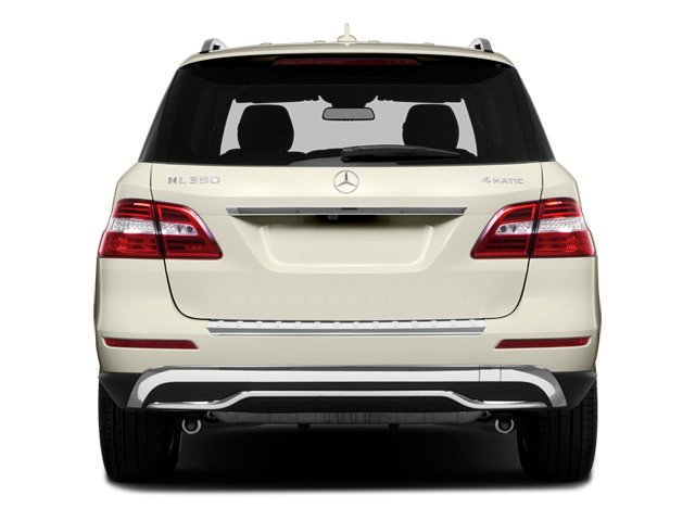 2014 Mercedes-Benz M-Class Prices and Values Utility 4D ML350 AWD V6 rear view