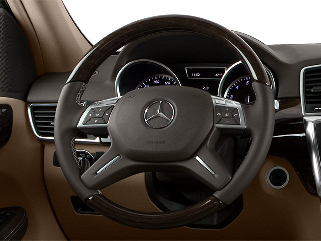 2014 Mercedes-Benz M-Class Prices and Values Utility 4D ML350 AWD V6 driver's dashboard
