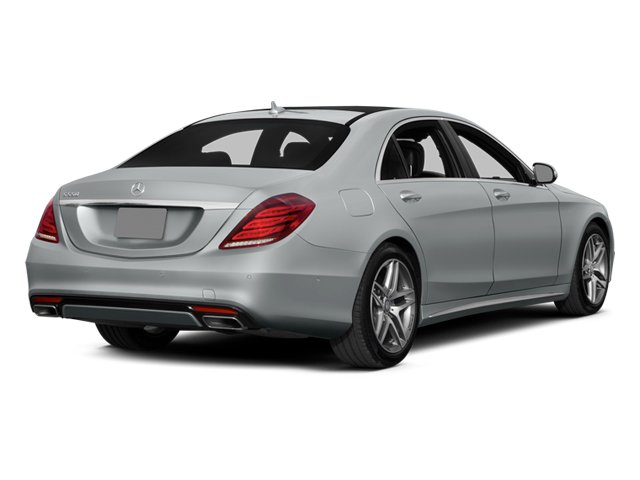 2014 Mercedes-Benz S-Class Prices and Values Sedan 4D S550 AWD side rear view