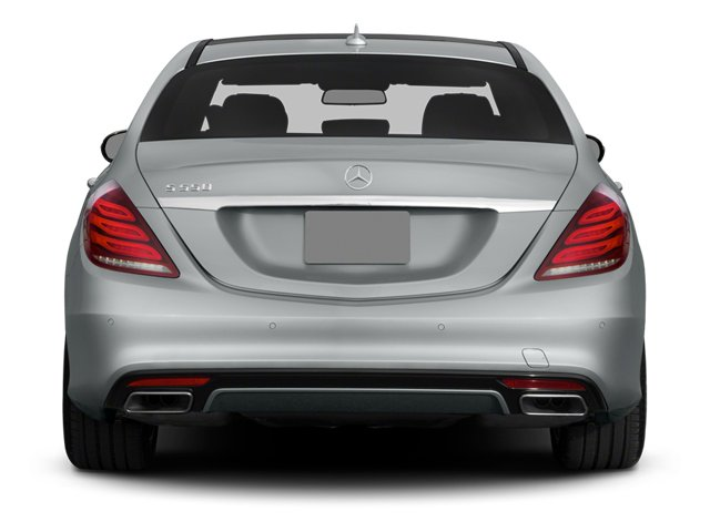 2014 Mercedes-Benz S-Class Prices and Values Sedan 4D S550 AWD rear view