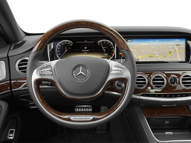 2014 Mercedes-Benz S-Class Prices and Values Sedan 4D S550 AWD driver's dashboard
