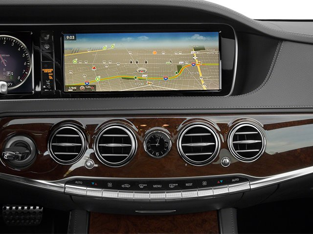 2014 Mercedes-Benz S-Class Prices and Values Sedan 4D S550 AWD stereo system