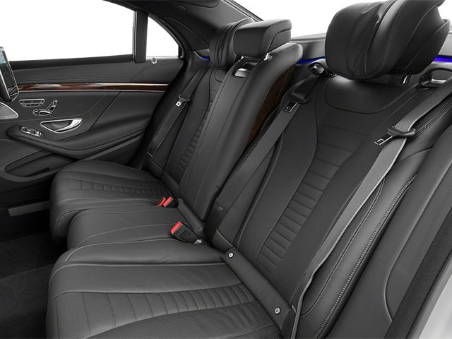 2014 Mercedes-Benz S-Class Prices and Values Sedan 4D S550 AWD backseat interior
