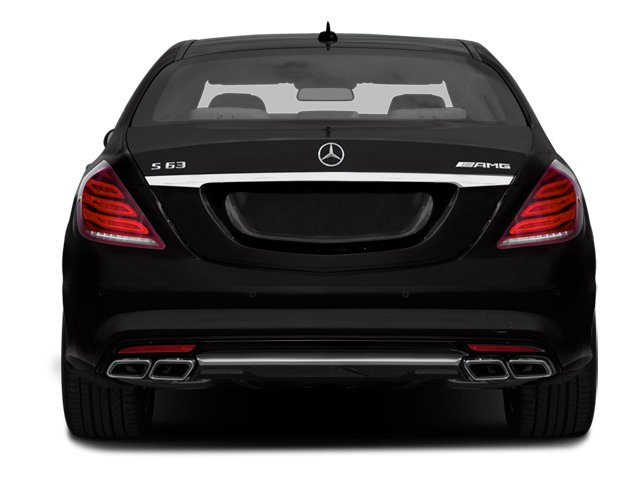 2014 Mercedes-Benz S-Class Pictures S-Class Sedan 4D S63 AMG AWD V8 Turbo photos rear view