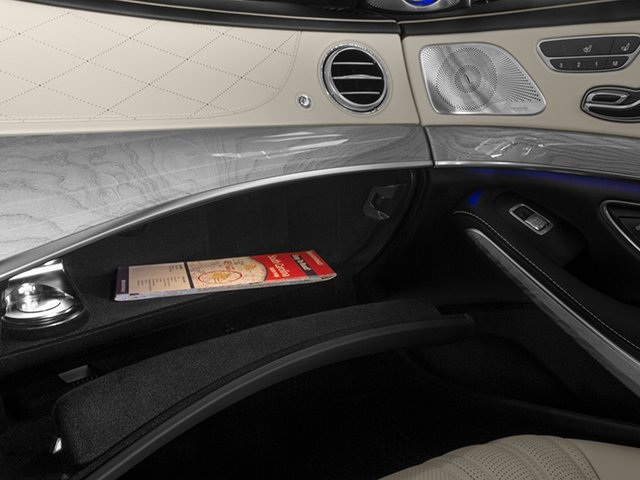 2014 Mercedes-Benz S-Class Pictures S-Class Sedan 4D S63 AMG AWD V8 Turbo photos glove box