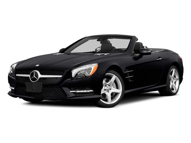 2014 Mercedes-Benz SL-Class Prices and Values Roadster 2D SL550 V8 Turbo side front view