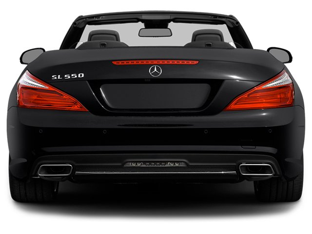 2014 Mercedes-Benz SL-Class Prices and Values Roadster 2D SL550 V8 Turbo rear view