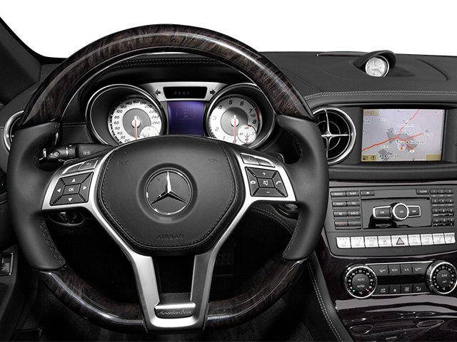 2014 Mercedes-Benz SL-Class Prices and Values Roadster 2D SL550 V8 Turbo driver's dashboard
