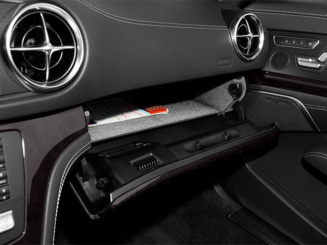 2014 Mercedes-Benz SL-Class Prices and Values Roadster 2D SL550 V8 Turbo glove box