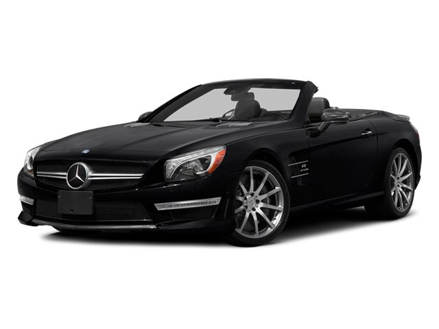 2014 Mercedes-Benz SL-Class Prices and Values Roadster 2D SL63 AMG V8 Turbo side front view