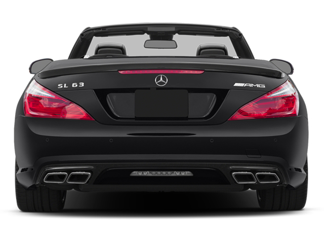 2014 Mercedes-Benz SL-Class Prices and Values Roadster 2D SL63 AMG V8 Turbo rear view
