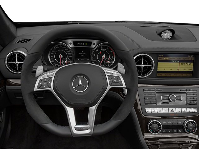 2014 Mercedes-Benz SL-Class Prices and Values Roadster 2D SL63 AMG V8 Turbo driver's dashboard