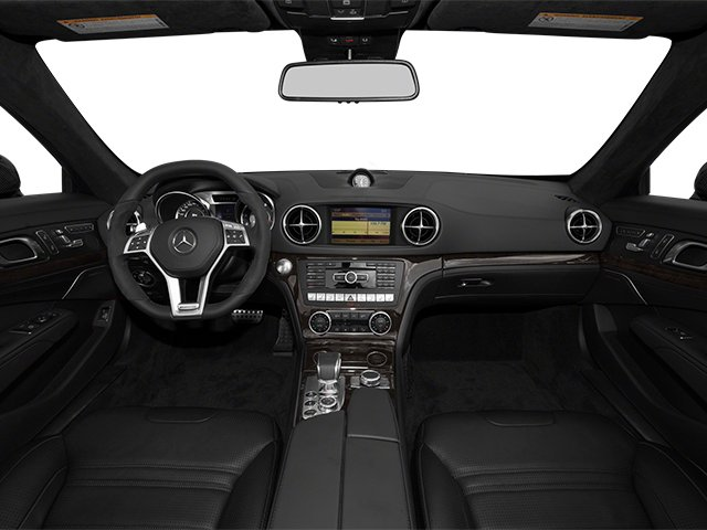 2014 Mercedes-Benz SL-Class Prices and Values Roadster 2D SL63 AMG V8 Turbo full dashboard