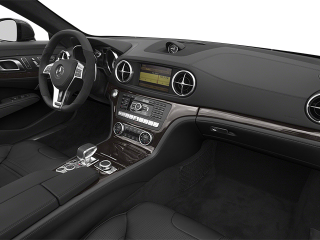 2014 Mercedes-Benz SL-Class Prices and Values Roadster 2D SL63 AMG V8 Turbo passenger's dashboard