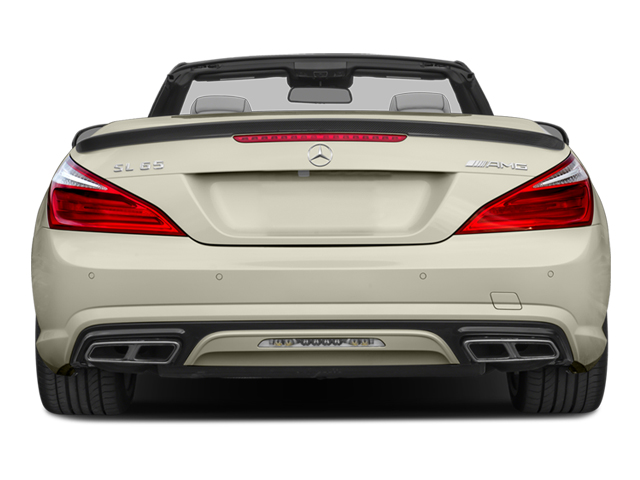 2014 Mercedes-Benz SL-Class Prices and Values 2 Door Roadster rear view
