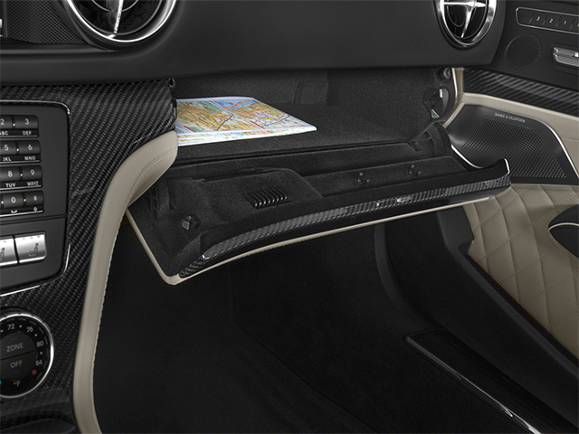 2014 Mercedes-Benz SL-Class Prices and Values 2 Door Roadster glove box