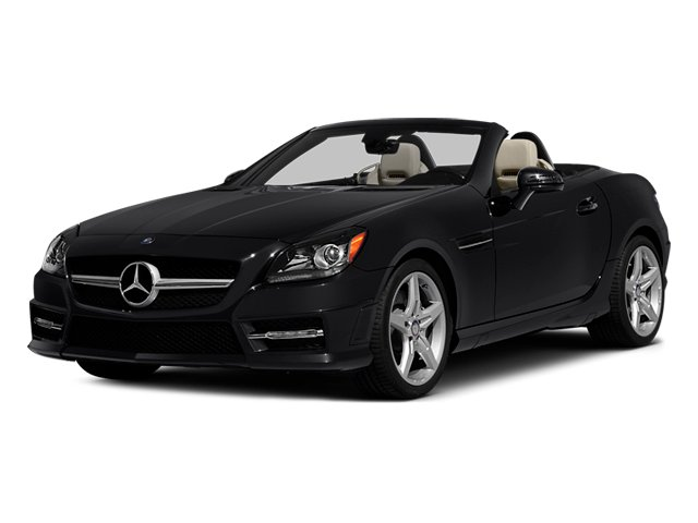 2014 Mercedes-Benz SLK-Class Prices and Values Roadster 2D SLK250 I4 Turbo side front view