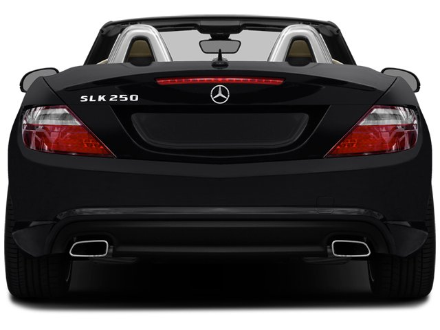 2014 Mercedes-Benz SLK-Class Prices and Values Roadster 2D SLK250 I4 Turbo rear view