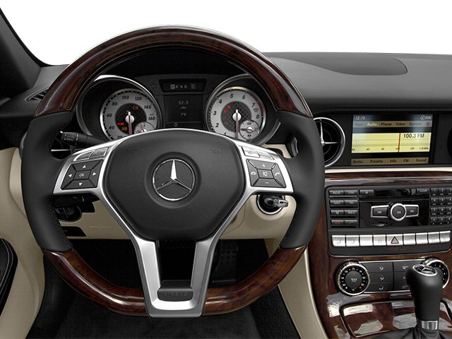 2014 Mercedes-Benz SLK-Class Prices and Values Roadster 2D SLK250 I4 Turbo driver's dashboard