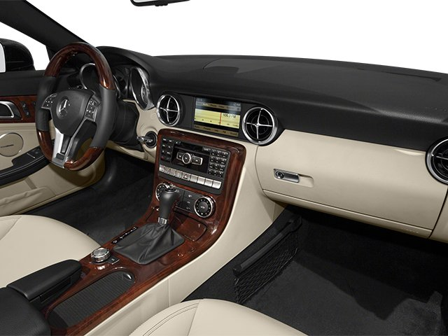 2014 Mercedes-Benz SLK-Class Prices and Values Roadster 2D SLK250 I4 Turbo passenger's dashboard