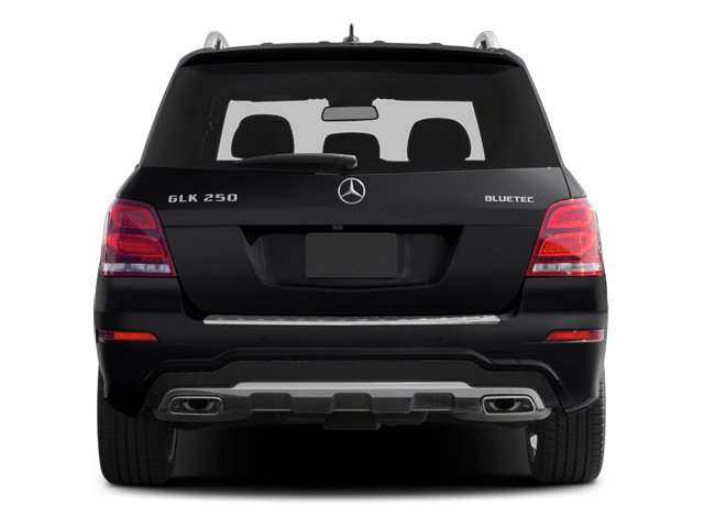 2014 Mercedes-Benz GLK-Class Prices and Values Utility 4D GLK250 BlueTEC AWD I4 rear view