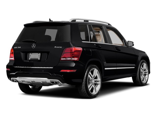 2014 Mercedes-Benz GLK-Class Prices and Values Utility 4D GLK350 2WD V6 side rear view
