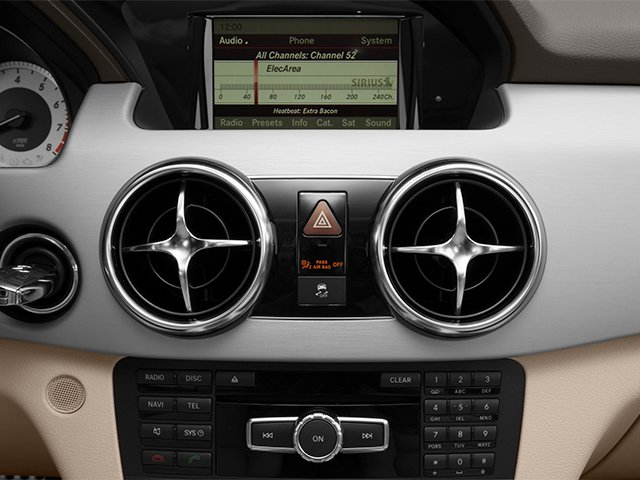 2014 Mercedes-Benz GLK-Class Prices and Values Utility 4D GLK350 2WD V6 stereo system