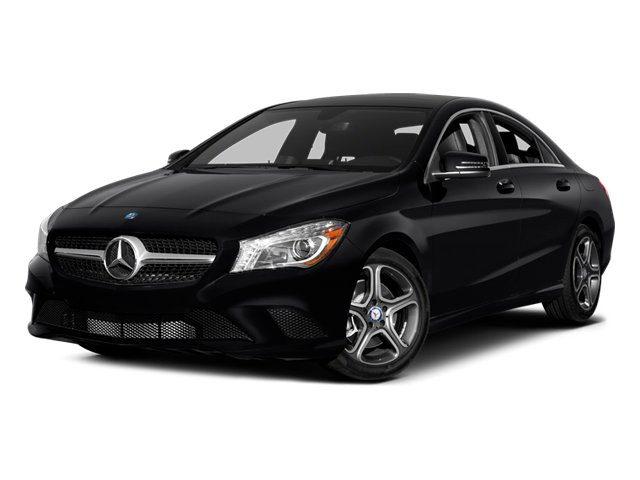 2014 Mercedes-Benz CLA-Class Prices and Values Sedan 4D CLA250 AWD I4 Turbo side front view