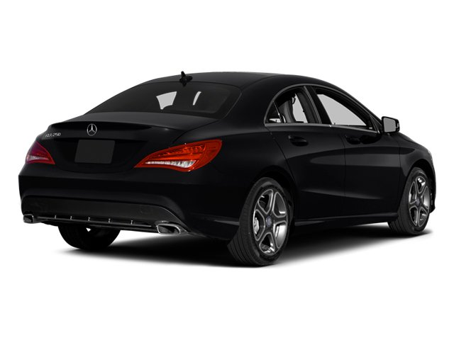 2014 Mercedes-Benz CLA-Class Pictures CLA-Class Sedan 4D CLA250 AWD I4 Turbo photos side rear view