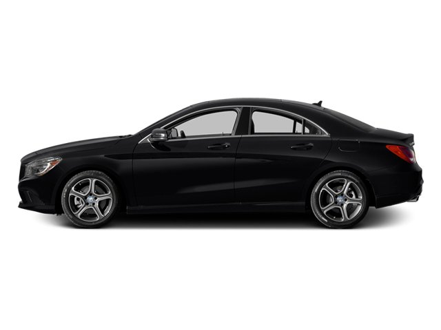 2014 Mercedes-Benz CLA-Class Pictures CLA-Class Sedan 4D CLA250 AWD I4 Turbo photos side view