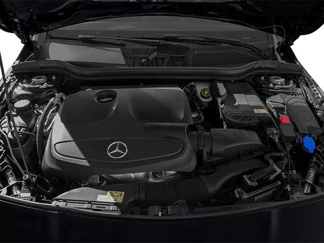 2014 Mercedes-Benz CLA-Class Pictures CLA-Class Sedan 4D CLA250 AWD I4 Turbo photos engine