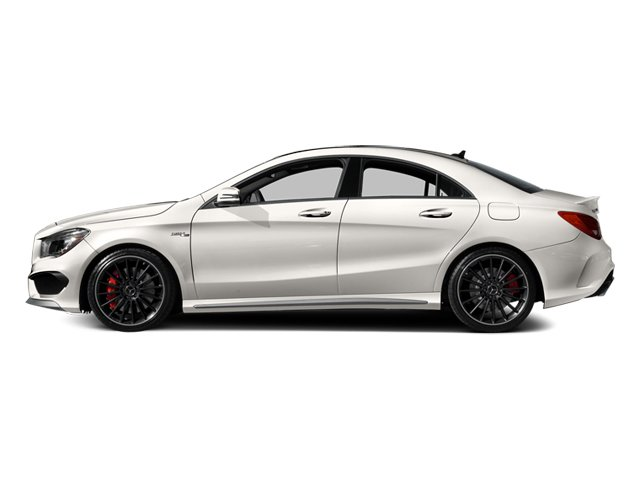 2014 Mercedes-Benz CLA-Class Pictures CLA-Class Sedan 4D CLA45 AMG AWD I4 Turbo photos side view