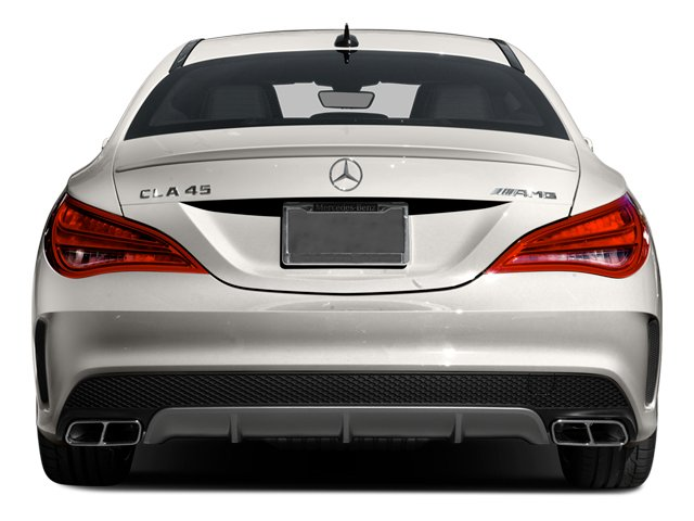 2014 Mercedes-Benz CLA-Class Pictures CLA-Class Sedan 4D CLA45 AMG AWD I4 Turbo photos rear view