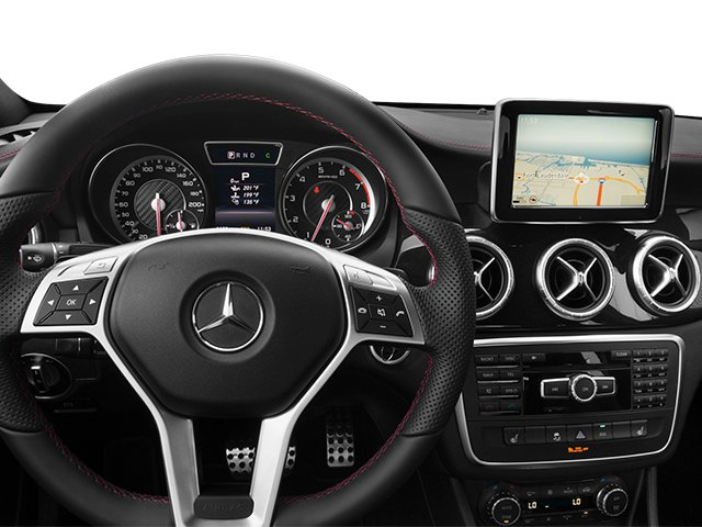 2014 Mercedes-Benz CLA-Class Prices and Values Sedan 4D CLA45 AMG AWD I4 Turbo driver's dashboard