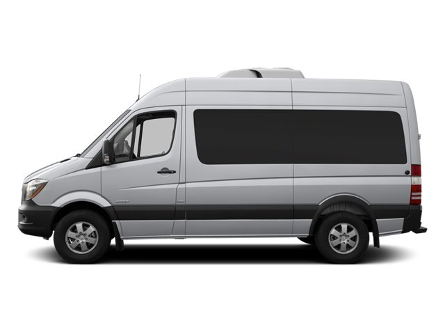 2014 Mercedes-Benz Sprinter Passenger Vans Prices and Values Passenger Van High Roof side view