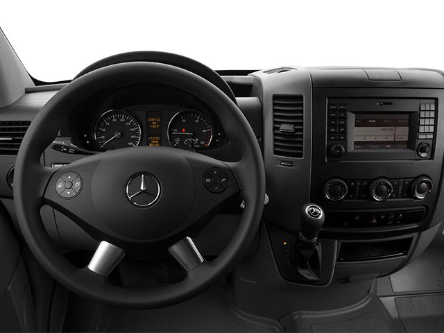 2014 Mercedes-Benz Sprinter Passenger Vans Prices and Values Passenger Van High Roof driver's dashboard