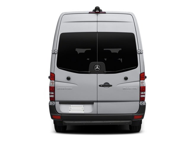 2014 Mercedes-Benz Sprinter Passenger Vans Prices and Values Extended Passenger Van High Roof rear view
