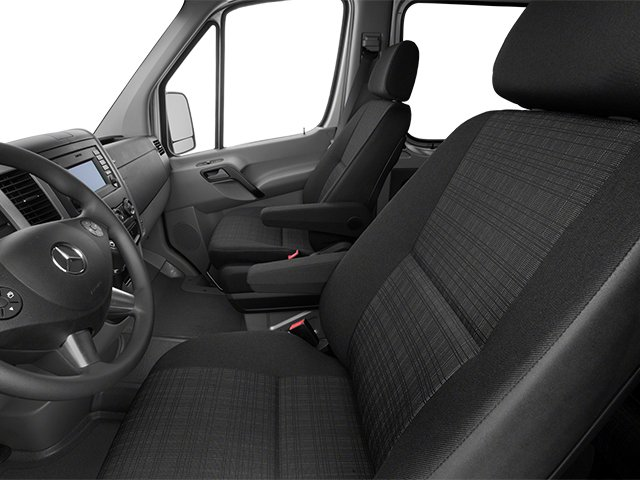 2014 Mercedes-Benz Sprinter Passenger Vans Prices and Values Extended Passenger Van High Roof front seat interior