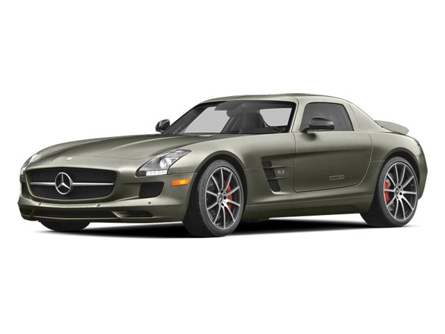 2014 Mercedes-Benz SLS AMG GT Prices and Values 2 Door Coupe side front view