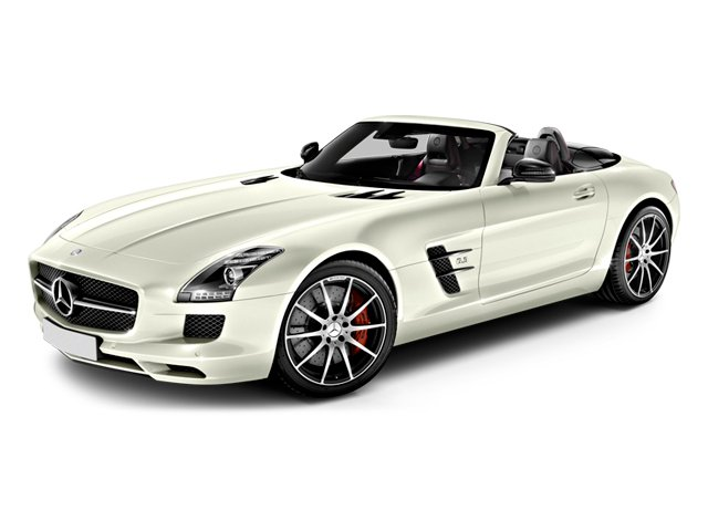 2014 Mercedes-Benz SLS AMG GT Prices and Values 2 Door Roadster side front view