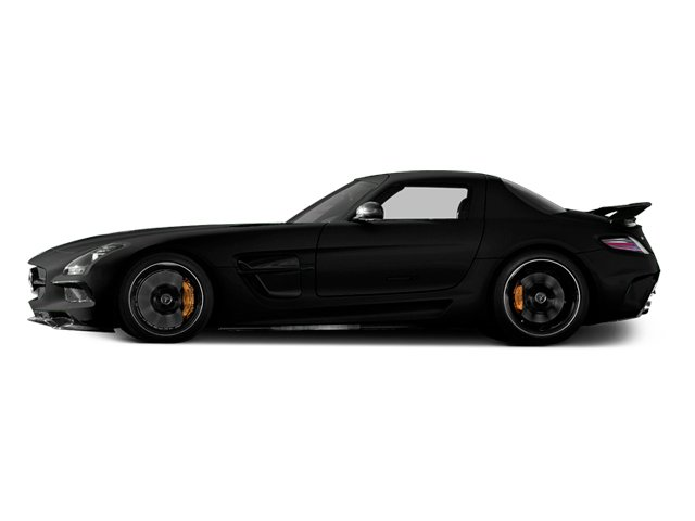 2014 Mercedes-Benz SLS AMG Black Series Prices and Values 2 Door Coupe Black Series side view