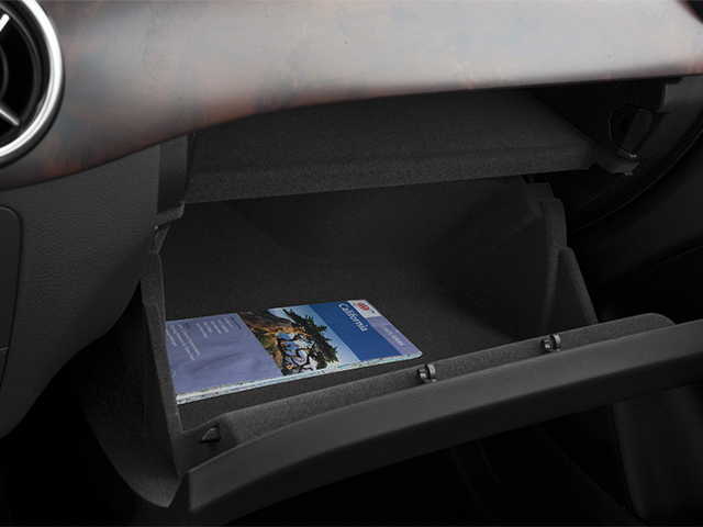 2014 Mercedes-Benz B-Class Prices and Values Hatchback 5D Electric Drive glove box