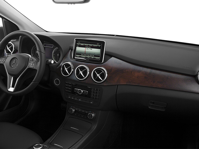 2014 Mercedes-Benz B-Class Prices and Values Hatchback 5D Electric Drive passenger's dashboard