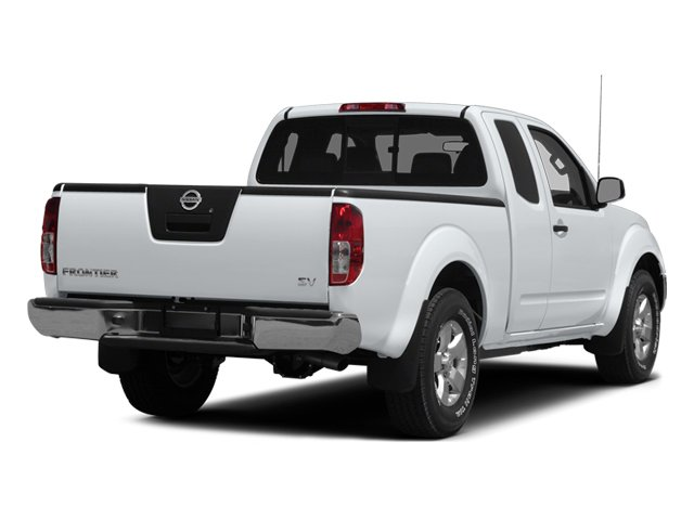 2014 Nissan Frontier Pictures Frontier King Cab SV 2WD photos side rear view