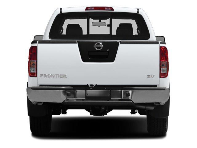 2014 Nissan Frontier Pictures Frontier King Cab SV 2WD photos rear view
