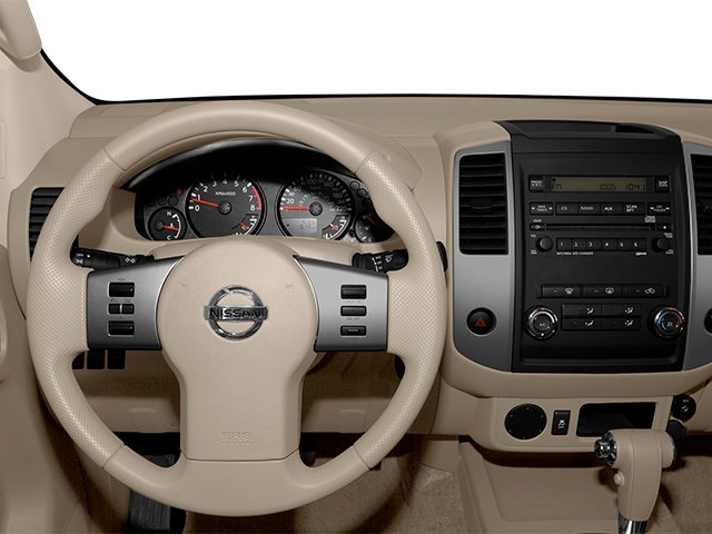2014 Nissan Frontier Pictures Frontier King Cab SV 2WD photos driver's dashboard