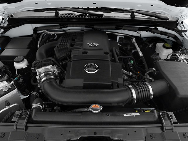 2014 Nissan Frontier Pictures Frontier King Cab SV 2WD photos engine
